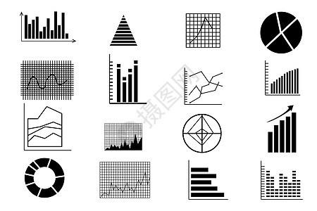 分析图图表图标集图片