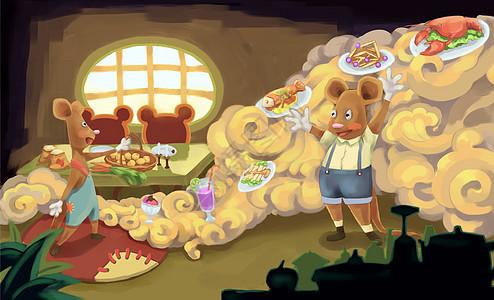 创意童趣儿童插画图片