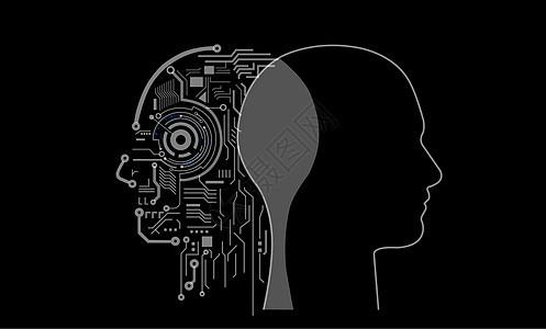 人脑与人工智能的结合图片
