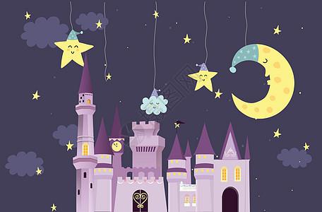 童趣城堡图片