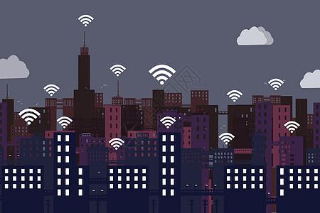 信息城市图片