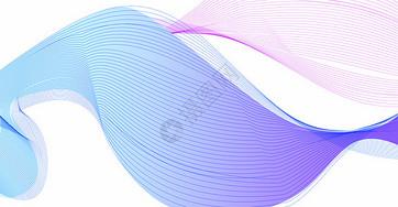 紫色渐变商务背景图片