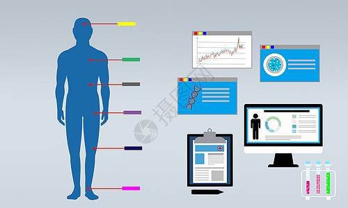 身体检查指数分析图片
