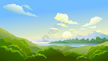 山水美景图片