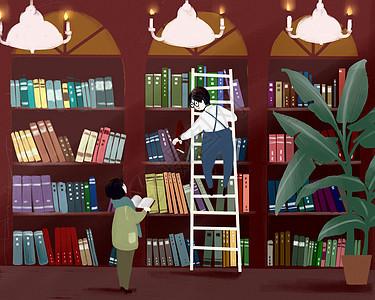 图书馆图片