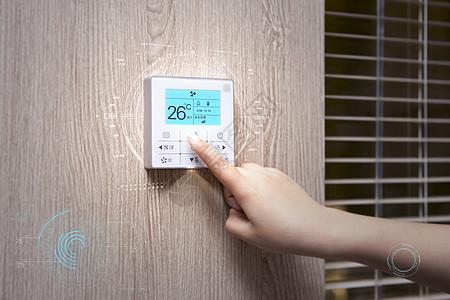 智能生活空调遥控图片