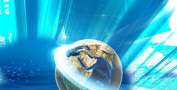 光效地球图片图片