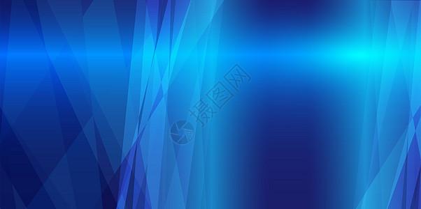 蓝色版块科技背景图片