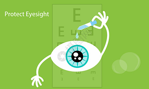 抽象保护视力图片