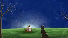 夜色星空图片