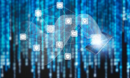 数据信息结构科技图图片