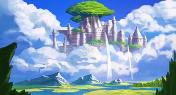 幻想城堡图片