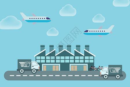 城市交通运输图片