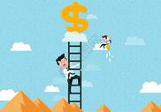 创意金融商务矢量图图片