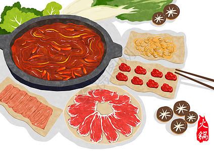 火锅美食图片