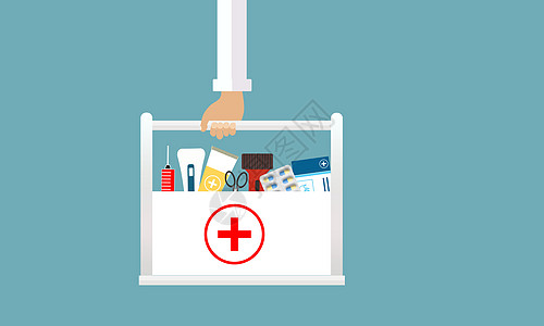 手提医疗箱的医生图片