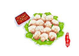 冬季食饺图片