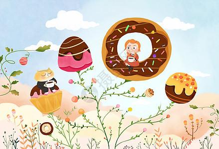 糖果树图片