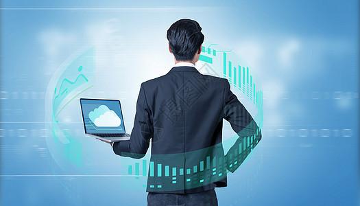 智能未来感网页浏览图片