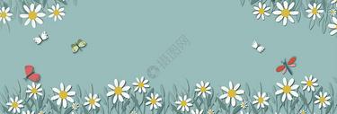 花丛背景图片