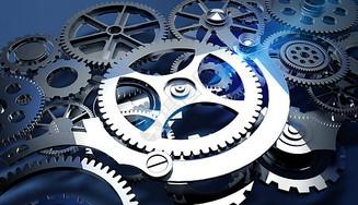 创意科技齿轮图片
