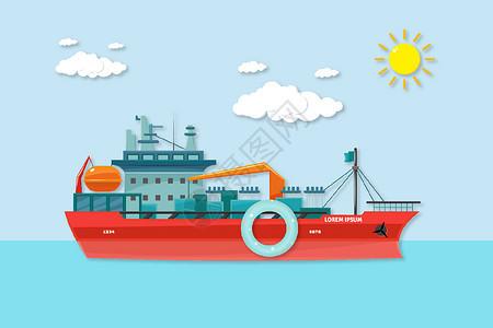 运输船图片