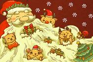 圣诞节插画400073063图片