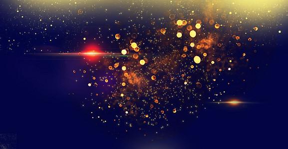 酷炫星光背景图片