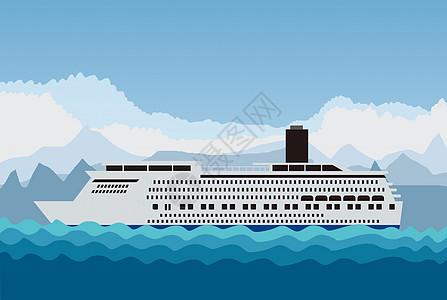 海上货轮运输图片