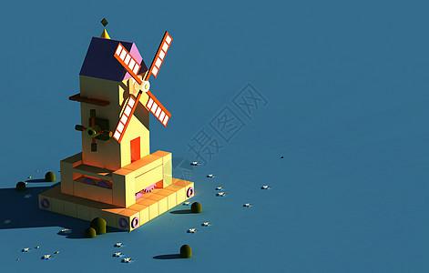 风车小屋图片