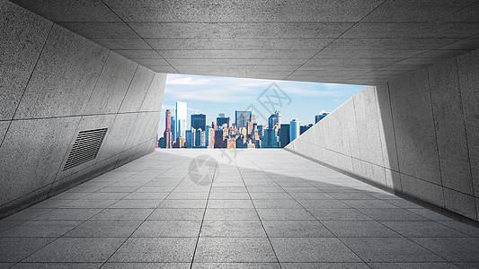 建筑风格大气背景图片