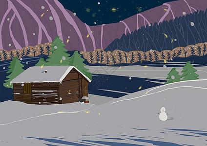 圣诞夜图片