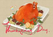 感恩节火鸡图片