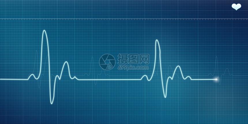 唯美图片 健康医疗 心电图背景psd  分享: qq好友 微信朋友圈 qq空间图片
