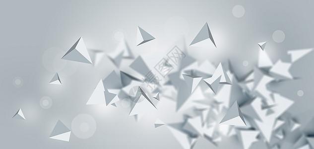 三维几何结构方块图片