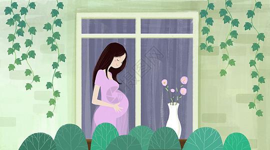 孕妈妈图片