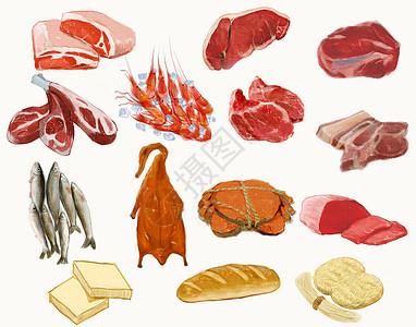 肉类禽类图片