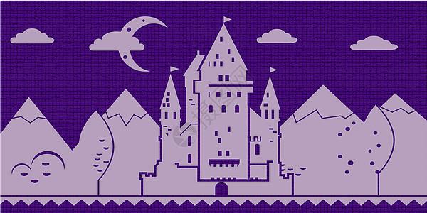 童话里的城堡图片