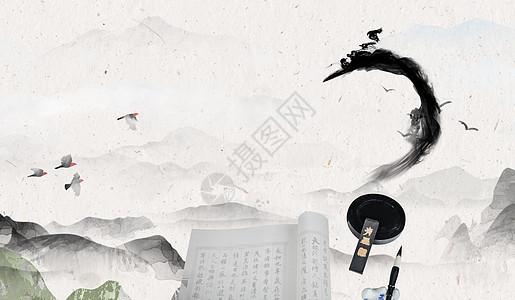 煮酒论英雄-中国风背景图片