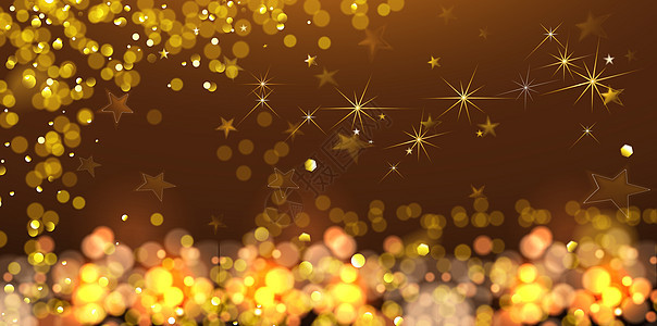 金色元素商务活动背景图片