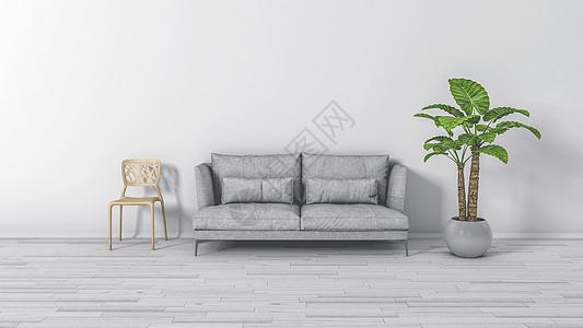 北欧风格室内背景图片