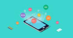 手机金融app背景图片