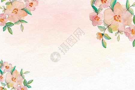 花朵质感背景图片