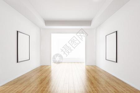 简约家居建模空间图片