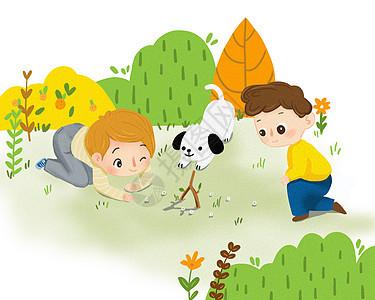 儿童游戏场景图片