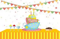 生日派对图片