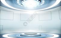 3D科技未来场景图片