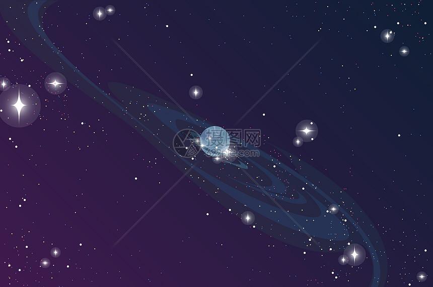 星空宇宙背景图片