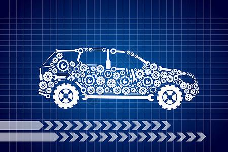 环保汽车图片