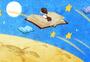 在书中飞翔图片